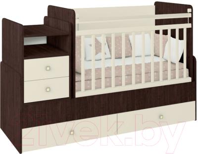 Детская кровать-трансформер Фея 1414