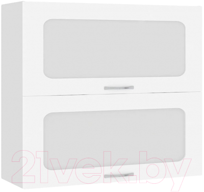 Шкаф навесной для кухни Кортекс-мебель Корнелия Мара ВШ80-2г2ст