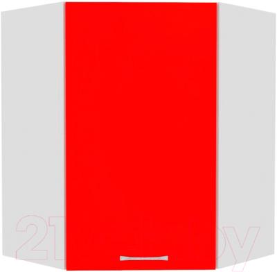 Шкаф навесной для кухни Кортекс-мебель Корнелия Мара ВШУ угловой