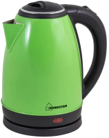 Электрочайник HomeStar HS-1010 (зеленый) -