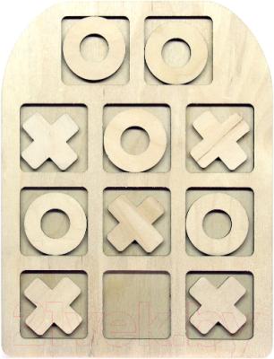 Развивающая игрушка Paremo Вкладыши. Крестики-нолики / PE720-100
