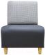 Кресло мягкое Aupi Гамма / 3.1-8 (ткань/2) -