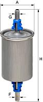 Топливный фильтр Hengst H110WK -