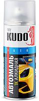 Эмаль автомобильная Kudo Золотисто-желтый 1035 (520мл) -