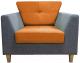 Кресло мягкое Aupi Пи / 3.1-18 (ткань/2) -