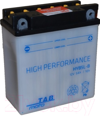 Мотоаккумулятор TAB AGM YB5L-B / 178515 (5 А/ч)