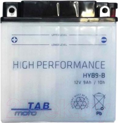 Мотоаккумулятор TAB AGM YB9-B / 183515 (9 А/ч)