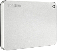 Внешний жесткий диск Toshiba Canvio Premium 2TB (HDTW220ES3AA) (серебристый) -