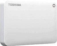 Внешний жесткий диск Toshiba Canvio Advance 1TB (HDTC910EW3AA) (белый) -