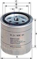Топливный фильтр Hengst H31WK01 -