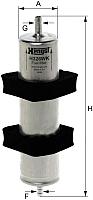 Топливный фильтр Hengst H326WK -
