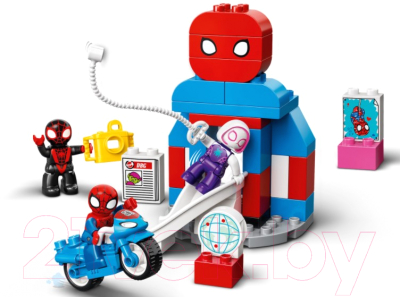 Конструктор Lego Duplo Штаб-квартира Человека-паука 10940