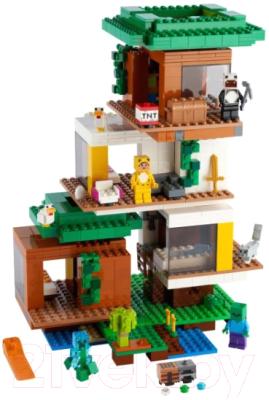 Конструктор Lego Minecraft Современный домик на дереве 21174