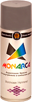 Краска Monarca Молотковая (520мл, серебристый) -