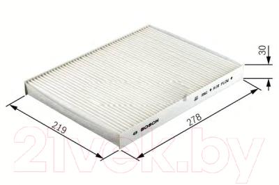 Салонный фильтр Bosch 1987432114