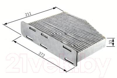 Салонный фильтр Bosch 1987432397