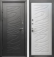Входная дверь Промет Джаз сосна прованс (206x98, левая) -