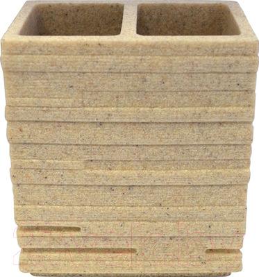 Стакан для зубной щетки и пасты Ridder Brick 22150211