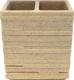 Стакан для зубной щетки и пасты Ridder Brick 22150211 -
