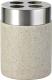 Стакан для зубной щетки и пасты Ridder Stone 22010211 -