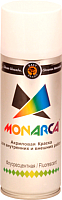 Краска Monarca Флуоресцентная (400мл, белый) -