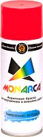 Краска Monarca Универсальная RAL 3020 (520мл, светофорно-красный) -