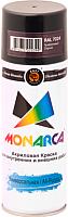 Краска Monarca Универсальная RAL 7024 (520мл, серый графит) -