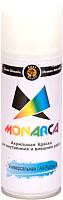Краска Monarca Универсальная RAL 9003 (520мл, белый глянцевый) -