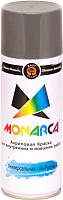 Краска Monarca Универсальная RAL 9006 (520мл, белый алюминий) -