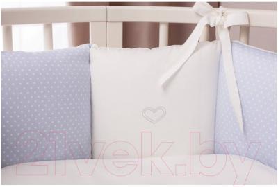 Комплект постельный в кроватку Perina Неженка Oval / НО7.4 (голубой)