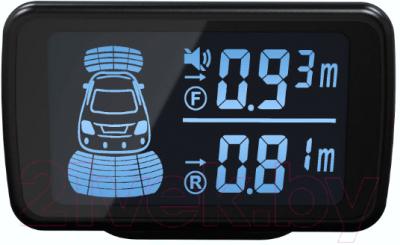 Парковочный радар 4Drive 8S-61/D58-Black парковочный радар park master 238 wt