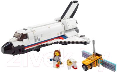 Конструктор Lego Creator Приключения на космическом шаттле 31117 конструктор lego creator 40460 розы