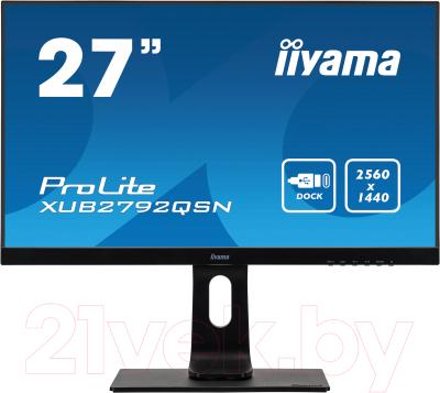 Монитор Iiyama ProLite XUB2792QSN-B1 монитор iiyama prolite xub2294hsu b1