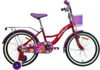 Детский велосипед AIST Lilo 2021 (20, красный) -
