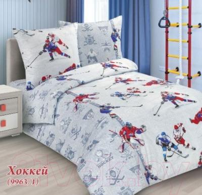 Комплект постельного белья СонМаркет Хоккей 1.5