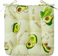 Подушка на стул Smart Textile 40х40 / ST494 (поролоновая крошка, авокадо) -