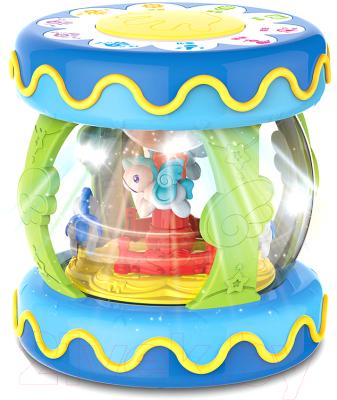 Развивающая игрушка Haunger Барабан-карусель большой / HE0703