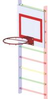 Баскетбольный щит Dinamika ZSO-002344 -