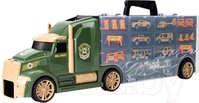 Автовоз игрушечный Givito Милитари / G205-007