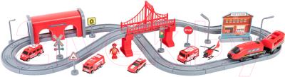 Железная дорога игрушечная Givito Служба спасения / G201-007