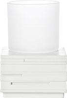 Стакан для зубной щетки и пасты Ridder Brick 22150101 -