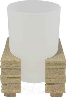 Стакан для зубной щетки и пасты Ridder Brick 22150111