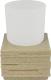 Стакан для зубной щетки и пасты Ridder Brick 22150111 -