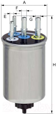 Топливный фильтр Hengst H457WK