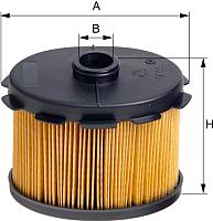 Топливный фильтр Hengst E55KPD69 -