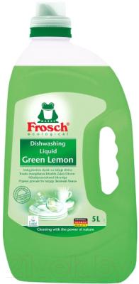 Средство для мытья посуды Frosch Лимон средство для мытья посуды herr klee лимон и ромашка 1 л