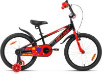 Детский велосипед AIST Pluto 2021 (20, черный) -