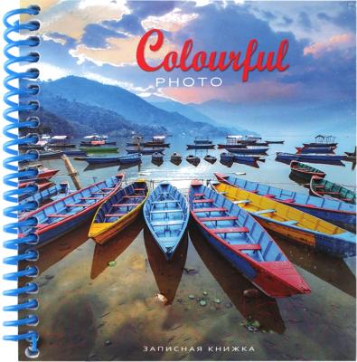 Блокнот, 2 шт. Проф-Пресс Цветные лодки / 80-7117