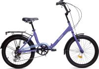 Детский велосипед AIST Smart 20 2.1 2021 (фиолетовый) -