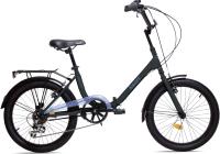 Детский велосипед AIST Smart 20 2.1 2021 (черный/синий) -